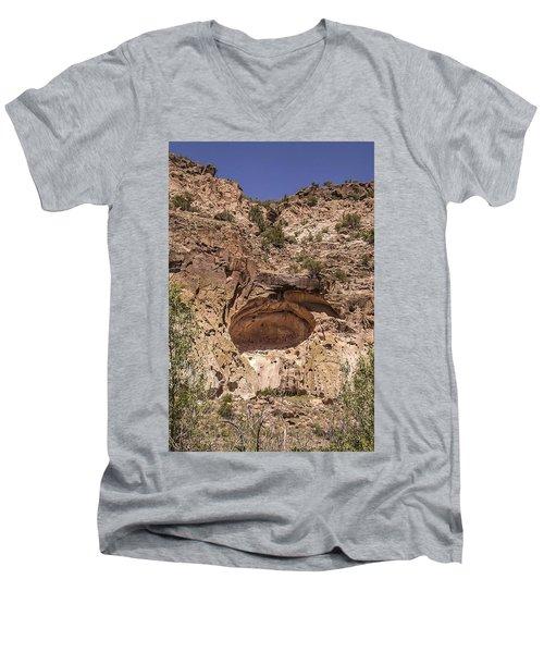 Painted Cave Ancient Art Men's V-Neck T-Shirt