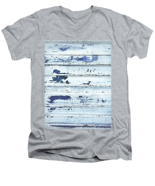 Painted Metal Surafce Men's V-Neck T-Shirt