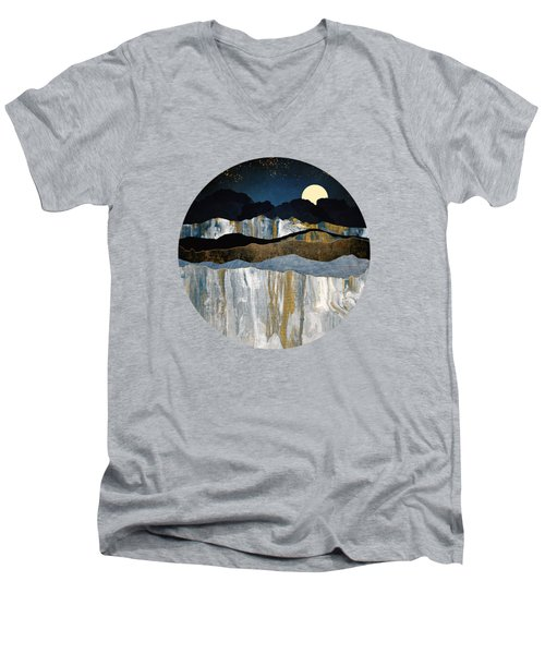 Painted Mountains Men's V-Neck T-Shirt