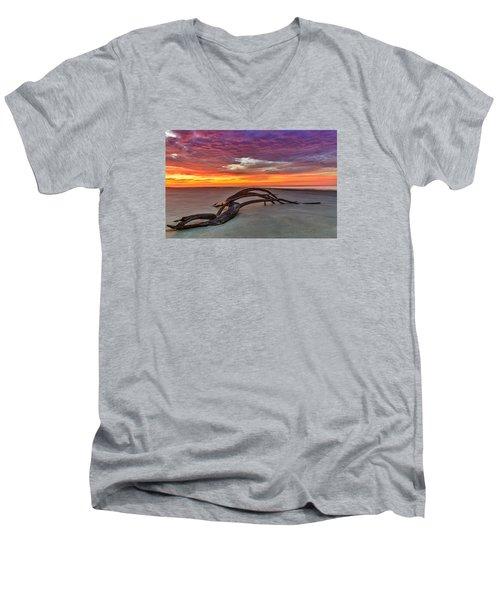 Painted Sky - Sullivan's Island Sc Men's V-Neck T-Shirt