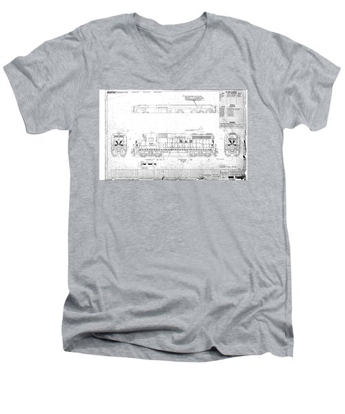 Painting And Lettering Diagramgp30 Men's V-Neck T-Shirt