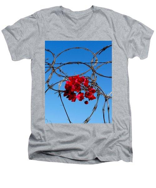 Pairing Men's V-Neck T-Shirt