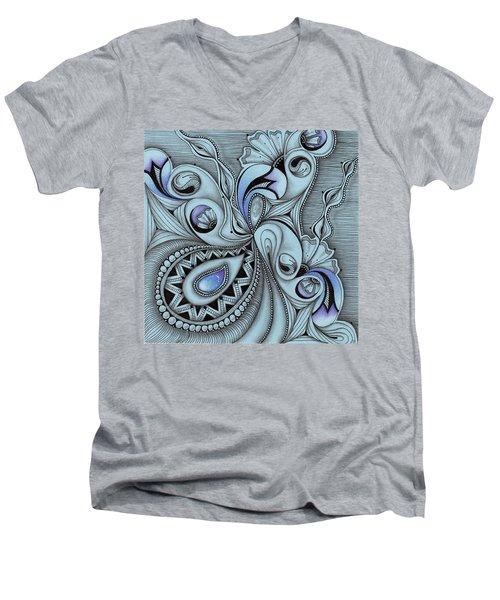 Paisley Power Men's V-Neck T-Shirt