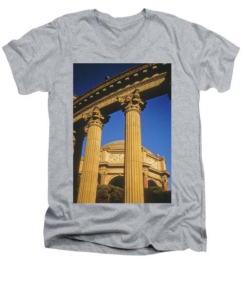 Palace Of Fine Arts, San Francisco Men's V-Neck T-Shirt