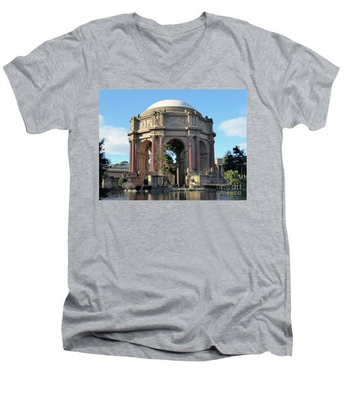 Palace Of Fine Arts Men's V-Neck T-Shirt