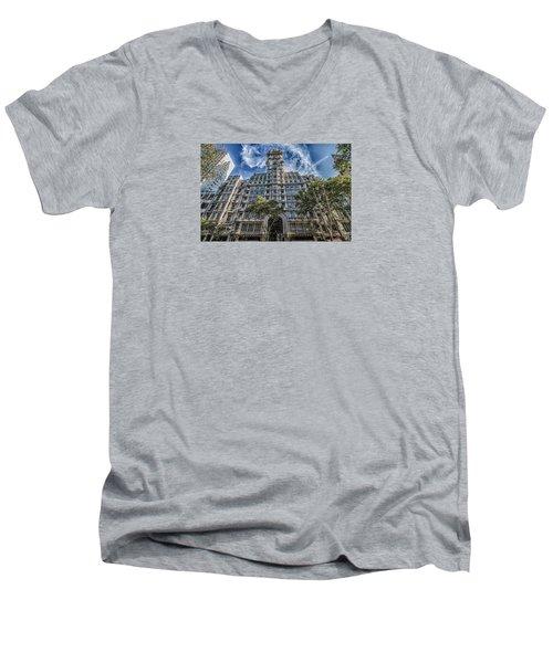 Palacio Barolo, Buenos Aires, Argentina Men's V-Neck T-Shirt