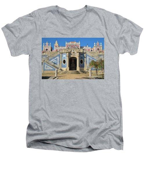 Palacio De Estoi Front View Men's V-Neck T-Shirt by Angelo DeVal