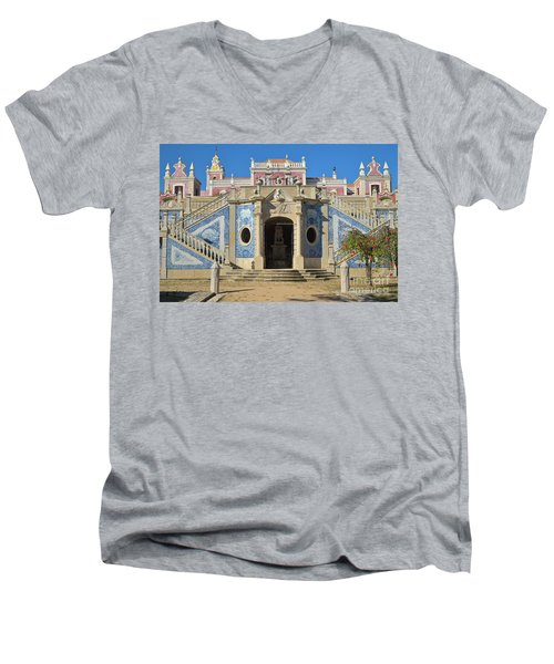 Palacio De Estoi Front View Men's V-Neck T-Shirt