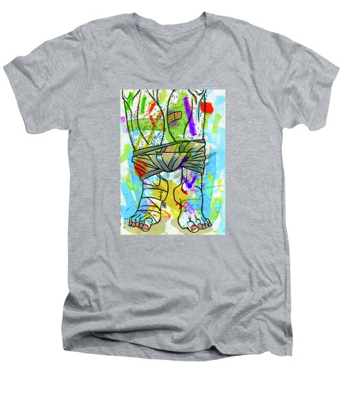 Palette Lad 2 Men's V-Neck T-Shirt