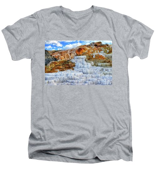 Palette Steps Men's V-Neck T-Shirt