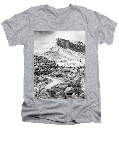 Palisade Island Mesa Men's V-Neck T-Shirt