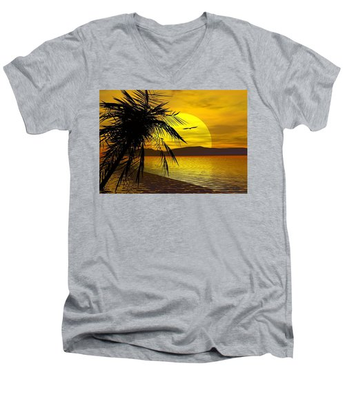 Palm Beach Men's V-Neck T-Shirt
