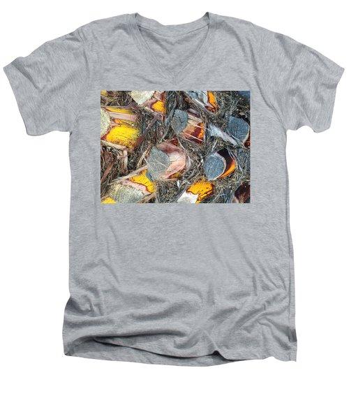 Palm Skin Men's V-Neck T-Shirt