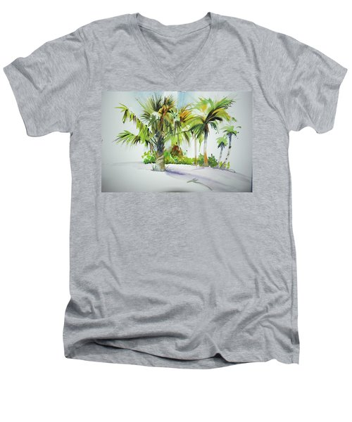 Palm Sunday Men's V-Neck T-Shirt