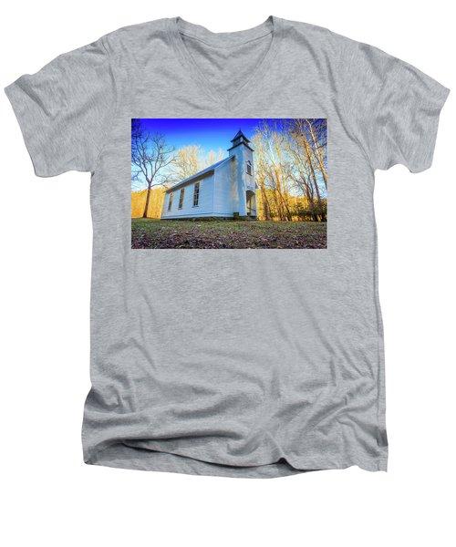 Palmer Chapel Methodist Church Men's V-Neck T-Shirt