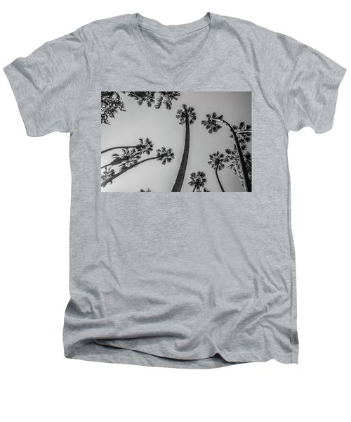 Men's V-Neck T-Shirt featuring the photograph Palms Up II by Ryan Weddle