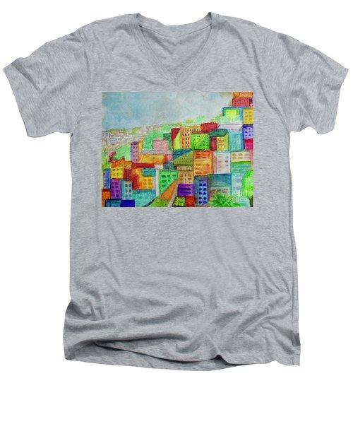Palmitas Men's V-Neck T-Shirt