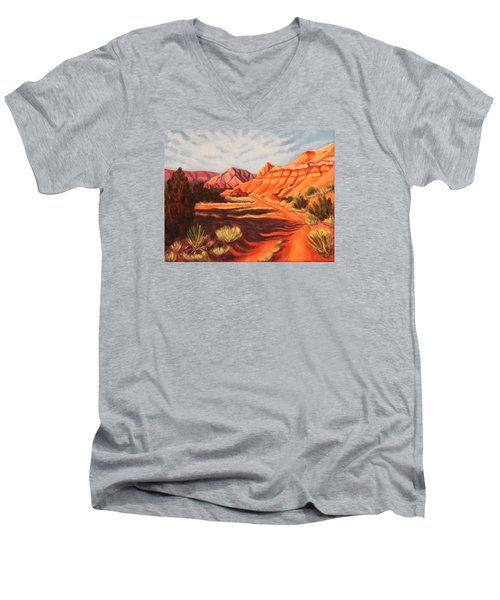 Palo Duro Canyon Men's V-Neck T-Shirt
