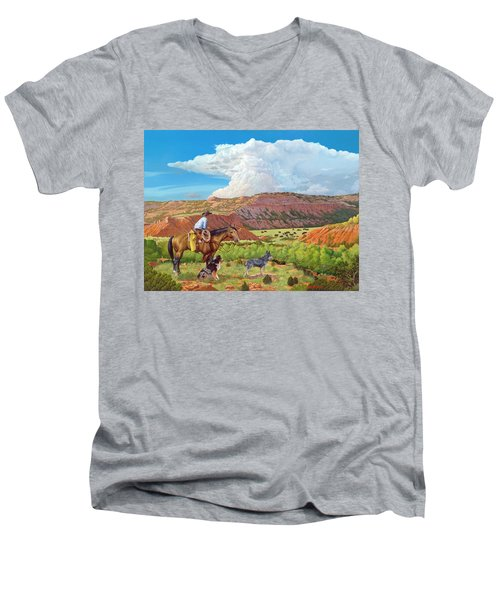Palo Duro Serenade Men's V-Neck T-Shirt