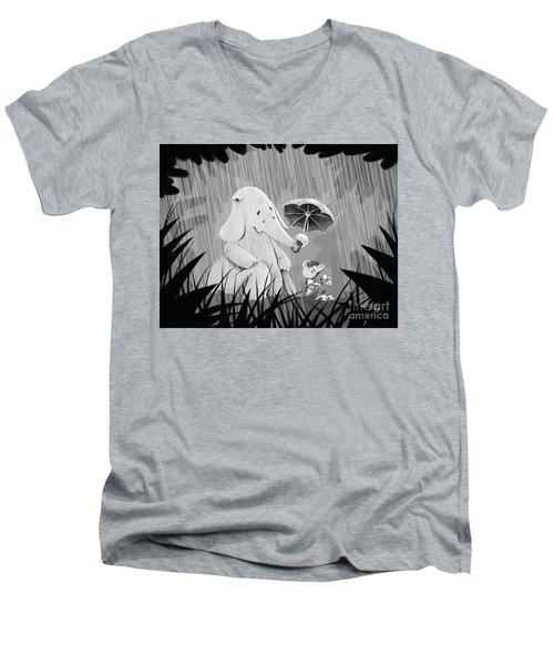 Pals Men's V-Neck T-Shirt