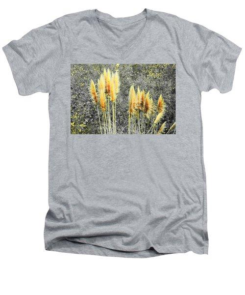 Pampas Men's V-Neck T-Shirt