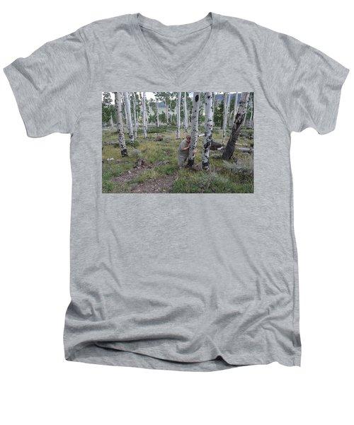 Pando  Men's V-Neck T-Shirt