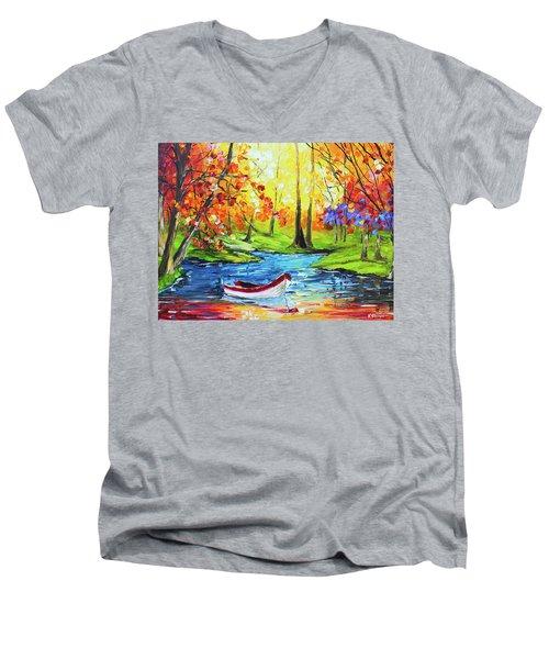 Panga Men's V-Neck T-Shirt