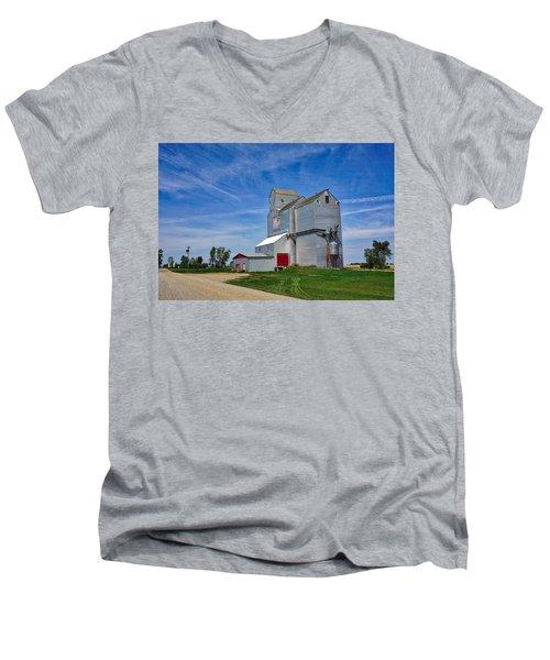 Pangman Elevator Men's V-Neck T-Shirt