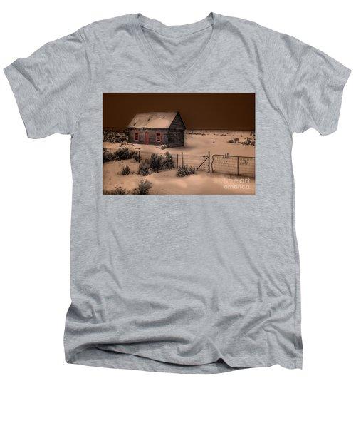 Panguitch Homestead Men's V-Neck T-Shirt