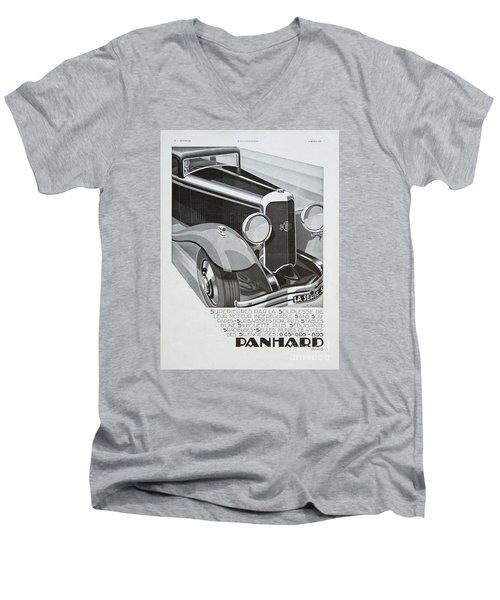 Panhard #8701 Men's V-Neck T-Shirt