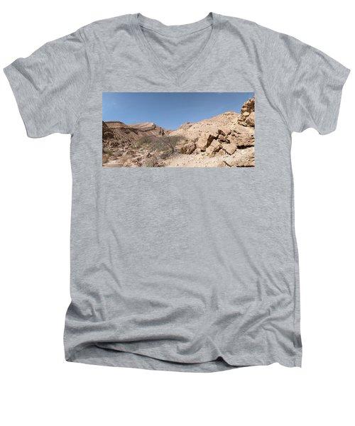 Panorama On Genesis Land 03 Men's V-Neck T-Shirt