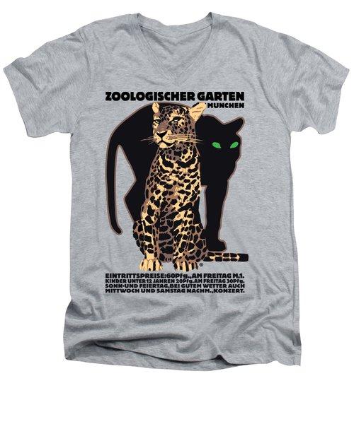Panther Men's V-Neck T-Shirt