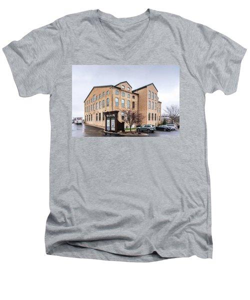 Paper Discovery Center Men's V-Neck T-Shirt by Randy Scherkenbach