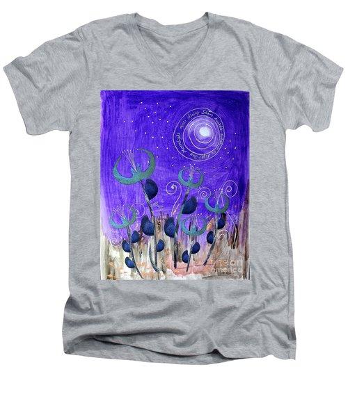 Papermoon Men's V-Neck T-Shirt