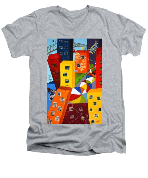 Parade The Day After Men's V-Neck T-Shirt