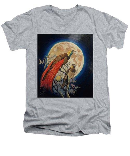 Paradise Birds Men's V-Neck T-Shirt