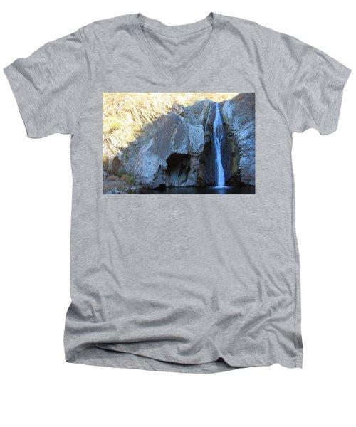 Paradise Falls Men's V-Neck T-Shirt