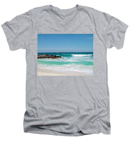 Paradise Island Men's V-Neck T-Shirt