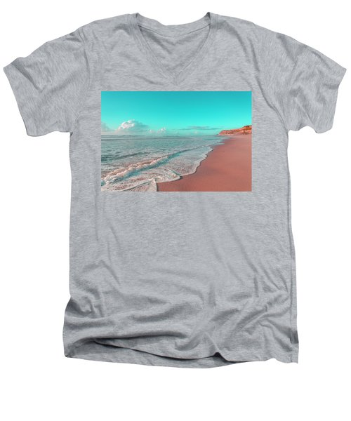 Paradisiac Beaches Men's V-Neck T-Shirt