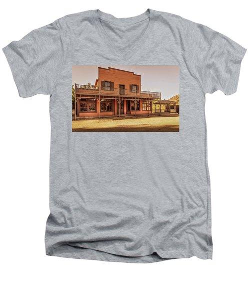 Paramount Ranch Saloon Men's V-Neck T-Shirt