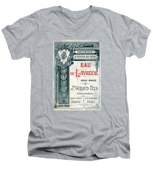 Men's V-Neck T-Shirt featuring the digital art Parfumerie by Greg Sharpe