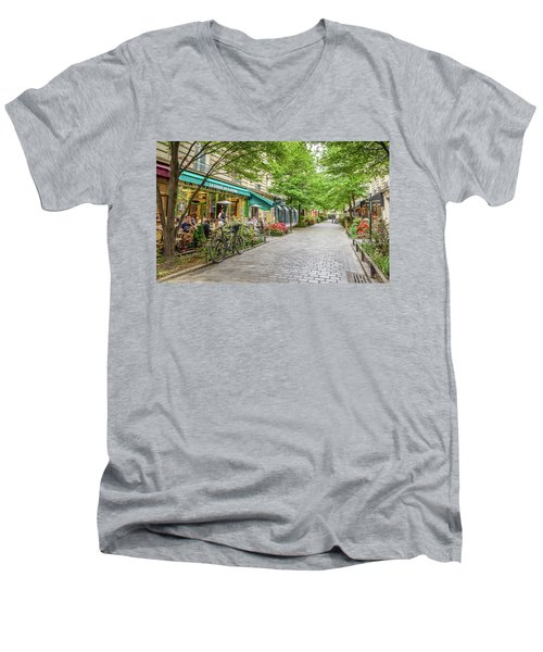 Paris In The Spring  Men's V-Neck T-Shirt