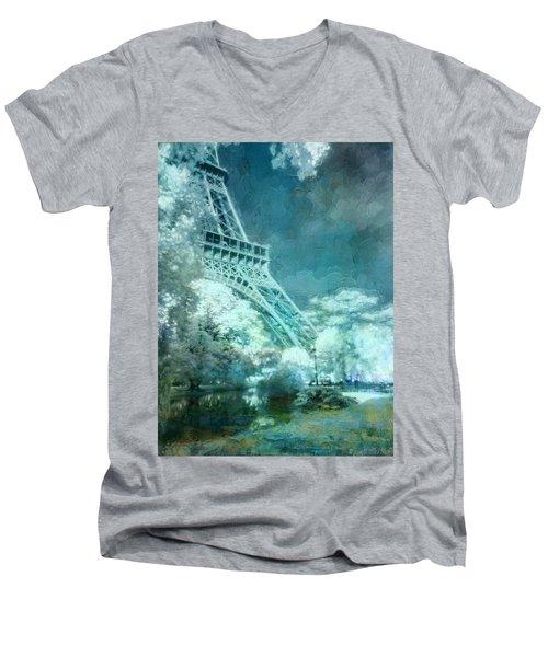 Parisian Dream Men's V-Neck T-Shirt