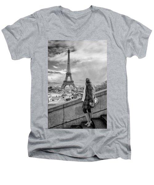 Parisien 2 Men's V-Neck T-Shirt
