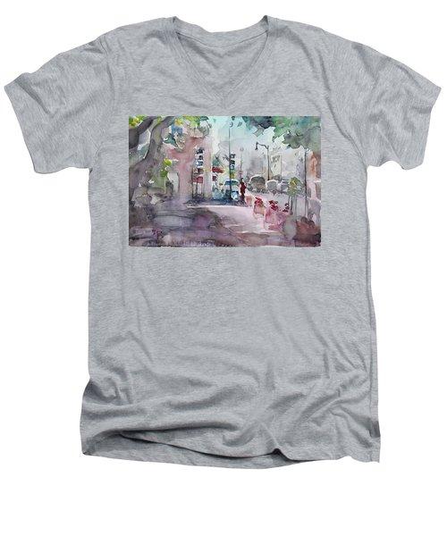 Park Avenue 2 Men's V-Neck T-Shirt