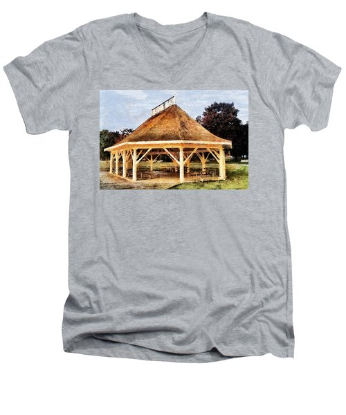 Park Gazebo Men's V-Neck T-Shirt