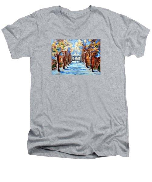 Park Zrinjevac Men's V-Neck T-Shirt