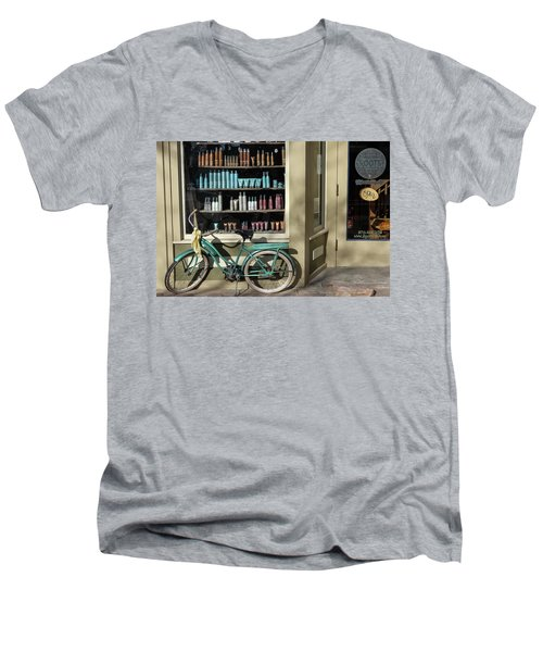 Parked Outside Men's V-Neck T-Shirt