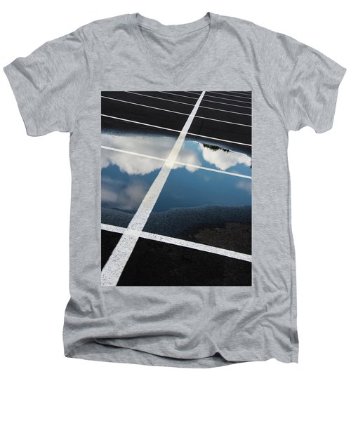 Parking Spaces For Clouds Men's V-Neck T-Shirt