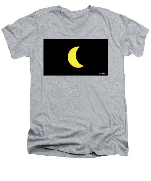 Partial Eclipse 3 Men's V-Neck T-Shirt